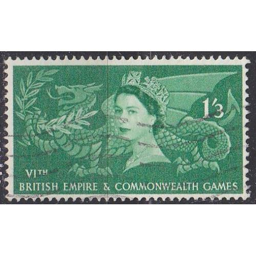 ENGLAND GREAT BRITAIN [1958] MiNr 0305 ( O/used )